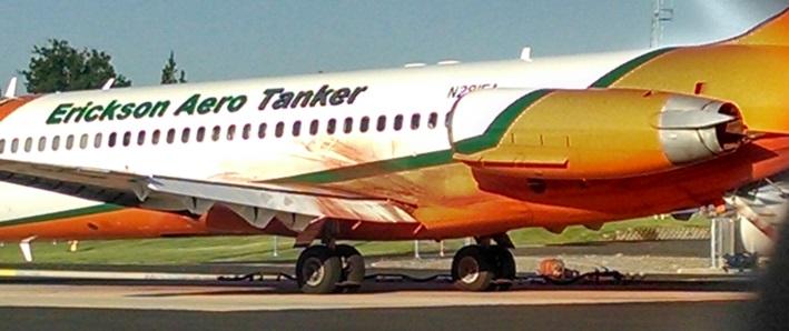 MD-87 at Redmond, June 9, 2014