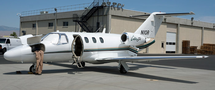 Citation lead plane, N10R,