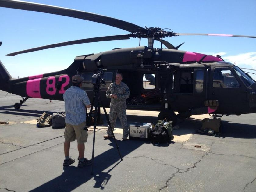 California National Guard helicopters
