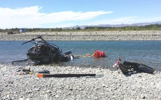 Helicopter crash Marlborough Fire New Zealand