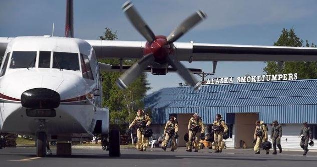 Smokejumpers in Alaska