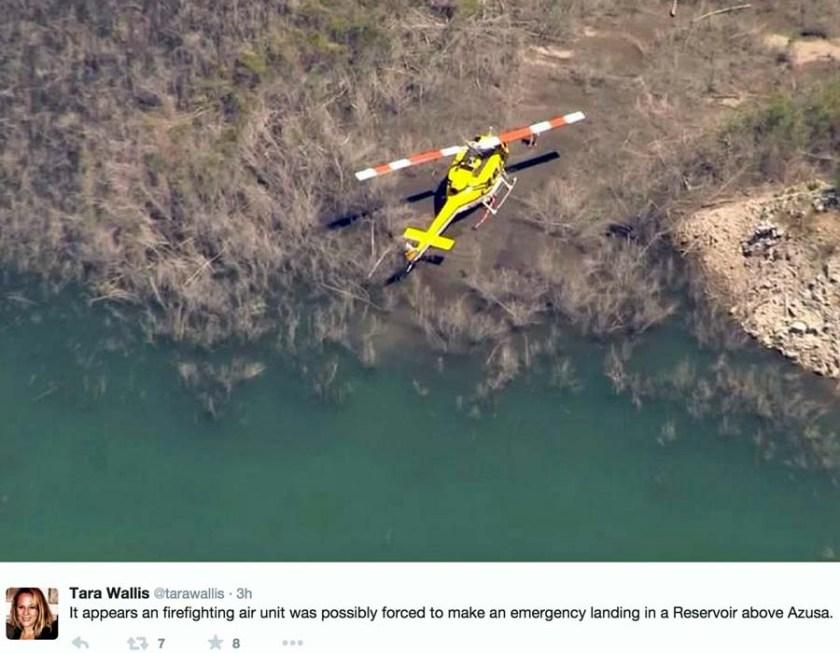 H-531 emergency landing