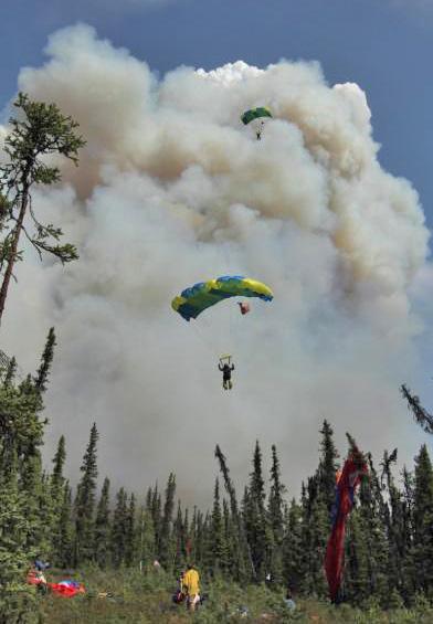 hastings fire alaska smokejumpers