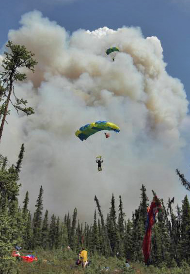 hastings fire alaska smokejumpers