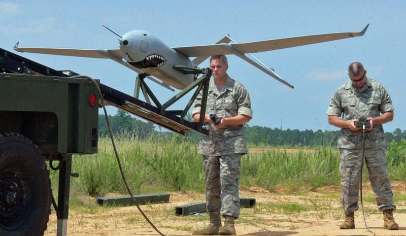Launching an Aerosonde Mark 4.7