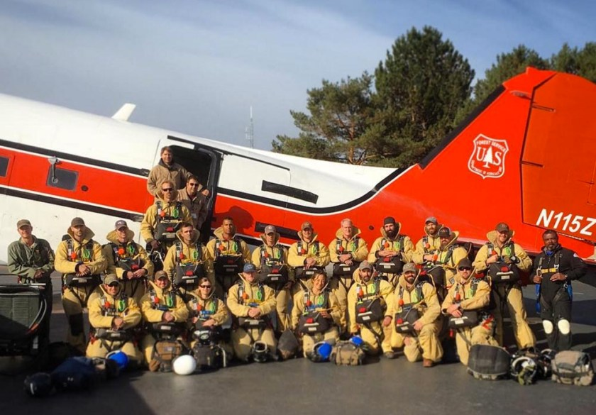 Region 1 smokejumpers