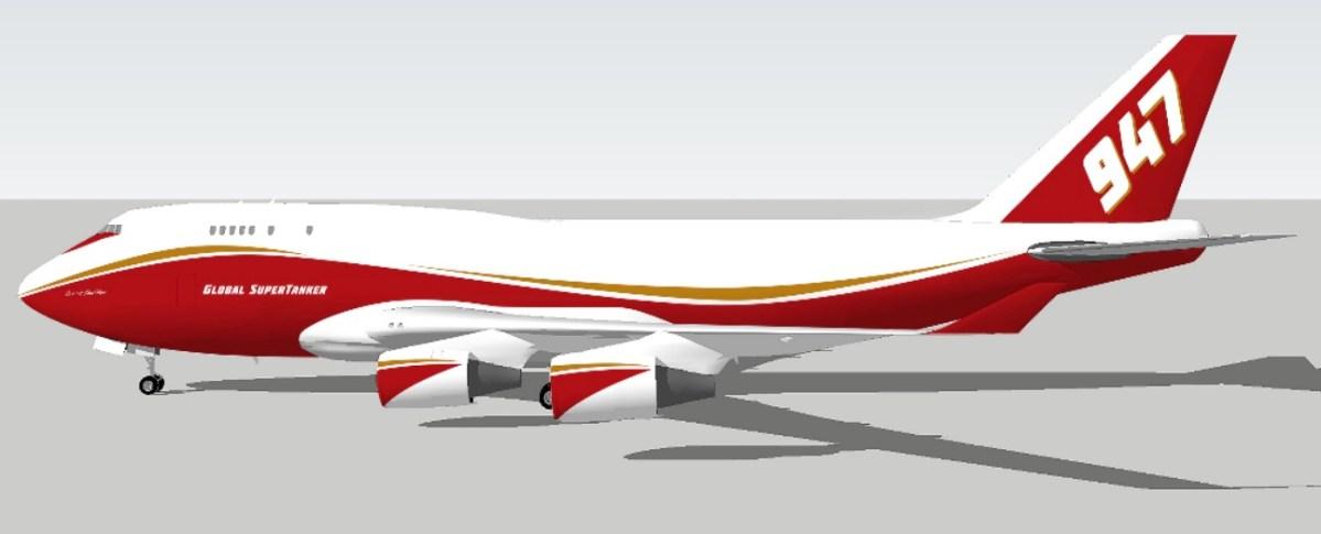 747 paint design