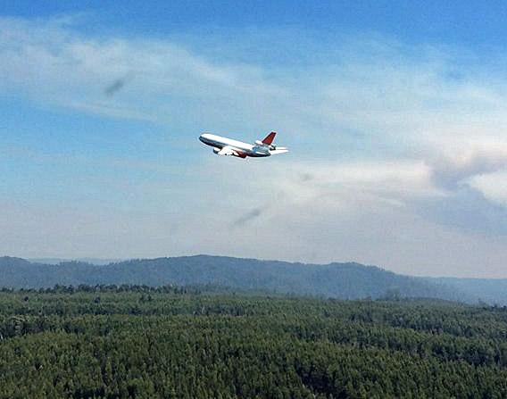 DC-10 Tasmania fire