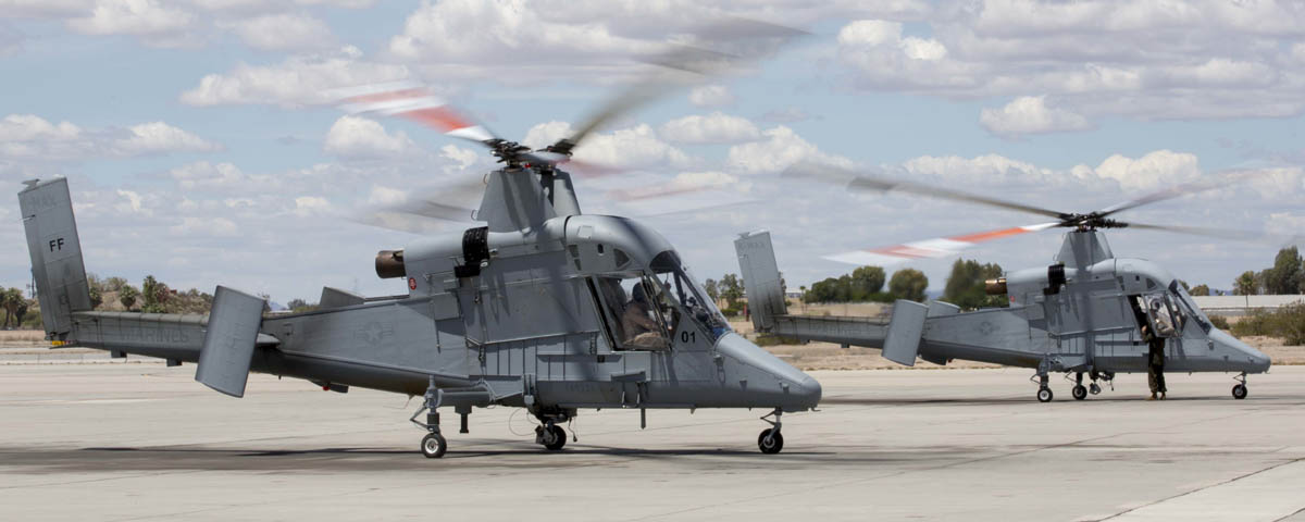 Remotely operated K-MAX helicopters relocated to Arizona