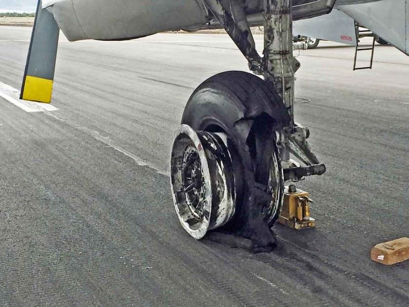 Tanker 44 blown tire Redmond