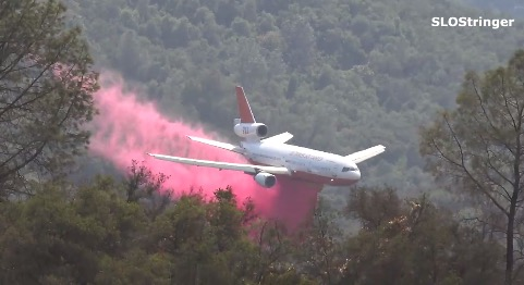 DC-10 Chimney Fire