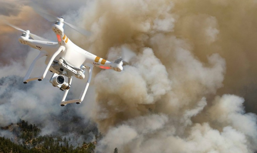 Drones Are An Increasing Safety Hazard At Wildfires