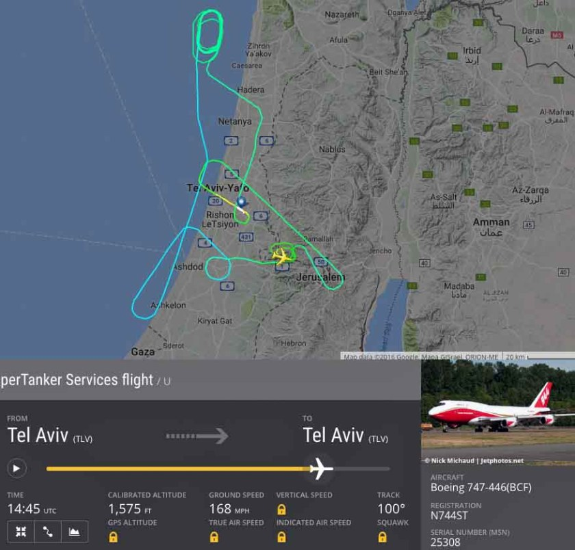 supertanker 747 Israel