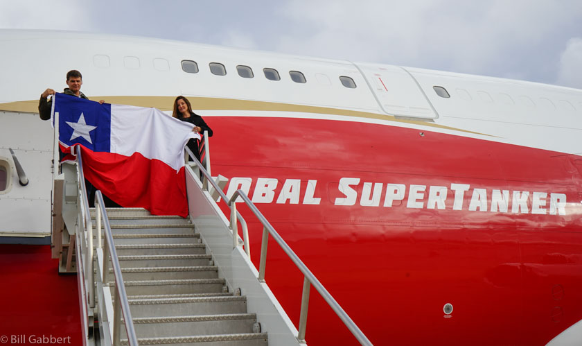 A private foundation is funding the initial deployment of the SuperTanker