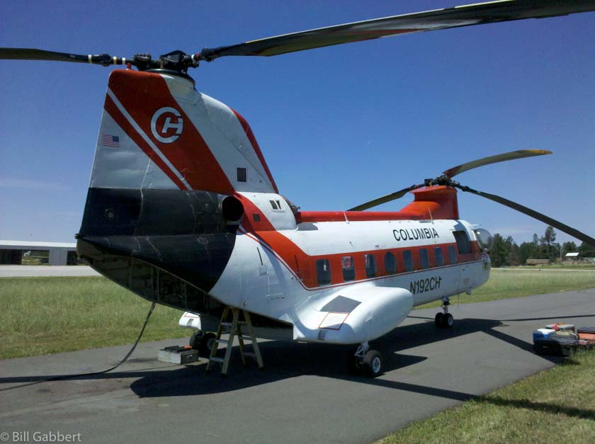 Forest Service to reduce the number of Type 1 helicopters on fire contracts