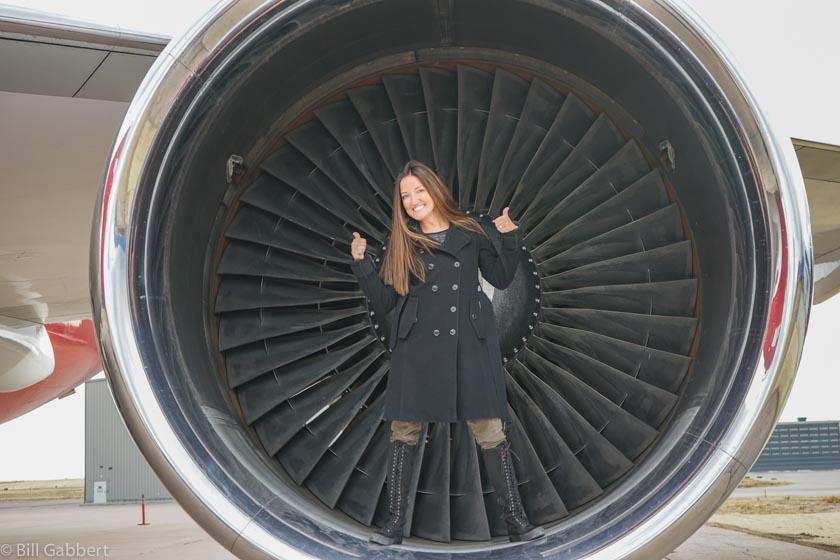 Lucy Ana Walton 747 Supertanker