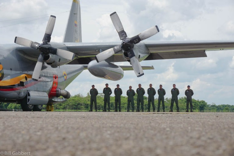 Colombian C-130 MAFFS