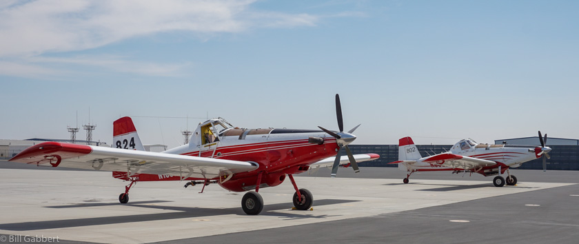 Update on single engine air tankers, fire season 2017