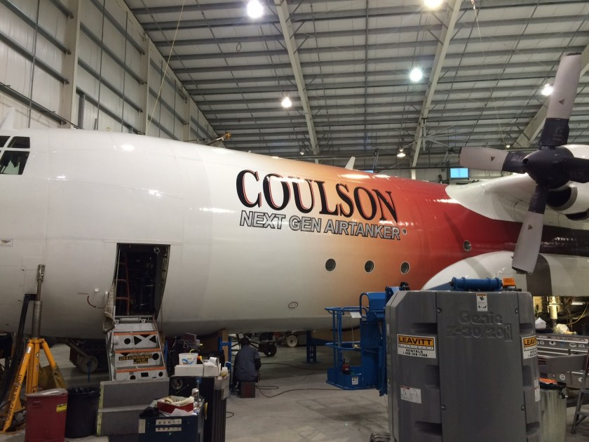 """Coulson's """"new"""" Tanker 133"""