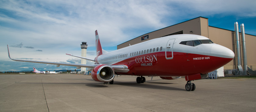Coulson to convert 737's into air tankers