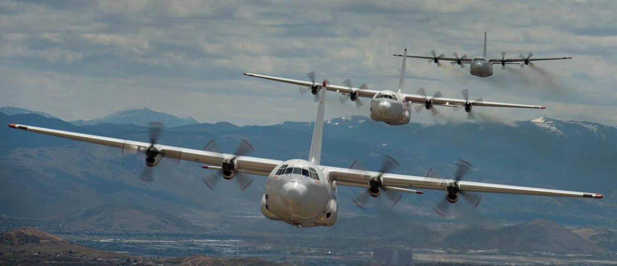 Picture day for Coulson's C-130's