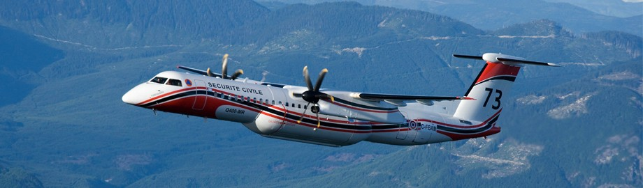 France to replace their S-2 air tankers with Q400's