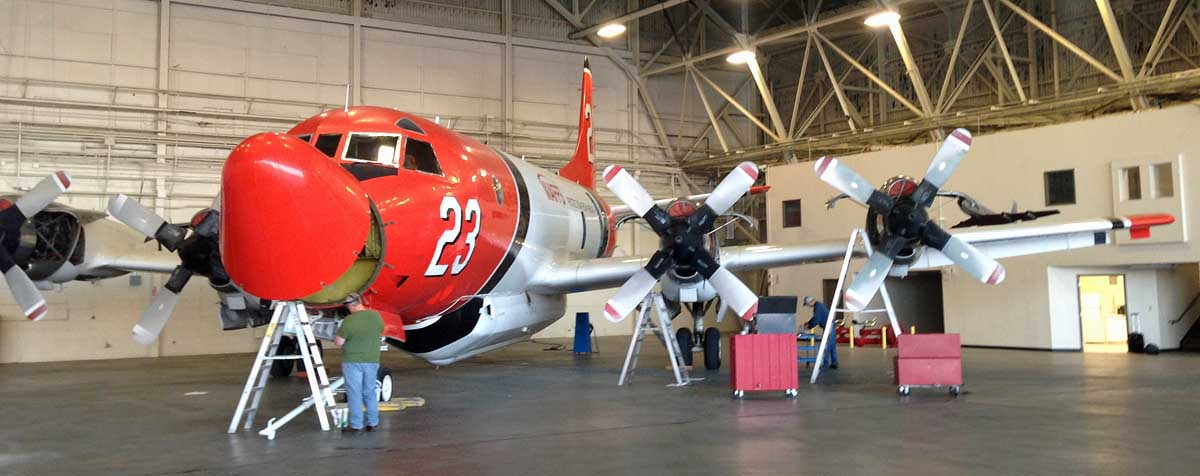 A former Aero Union P3 to be resurrected