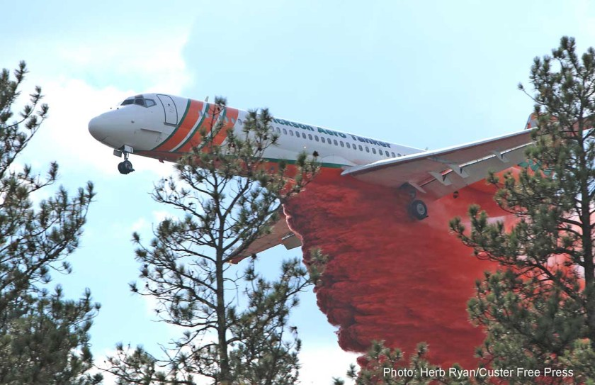 Beaver Fire, MD-87, T-103, South Dakota,