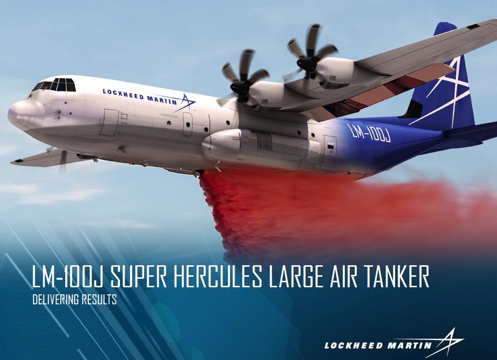 Lockheed markets a new air tanker