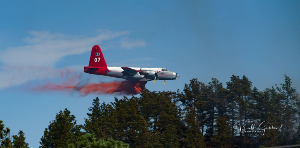 We asked Forest Service Chief why air tankers were cut by 35%