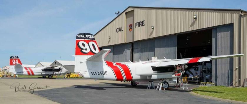 S2 air tankers CAL FIRE facilities McClellan