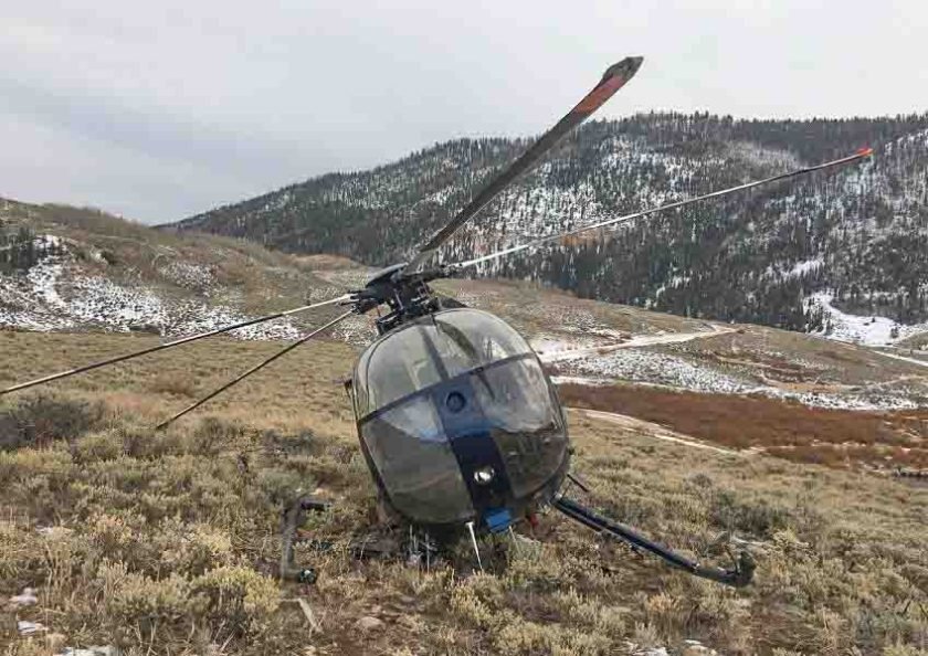 elk helicopter crash