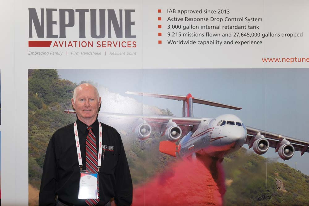 Ron Hooper CEO of Neptune Aviation