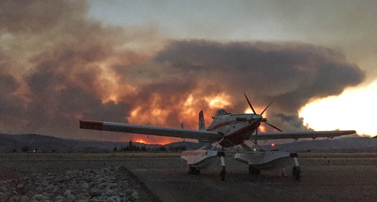 air tanker Omak Washington