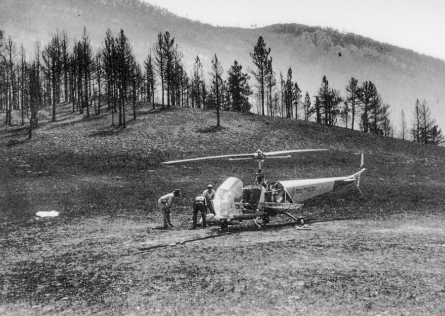 1949 Mann Gulch Fire smokejumpers