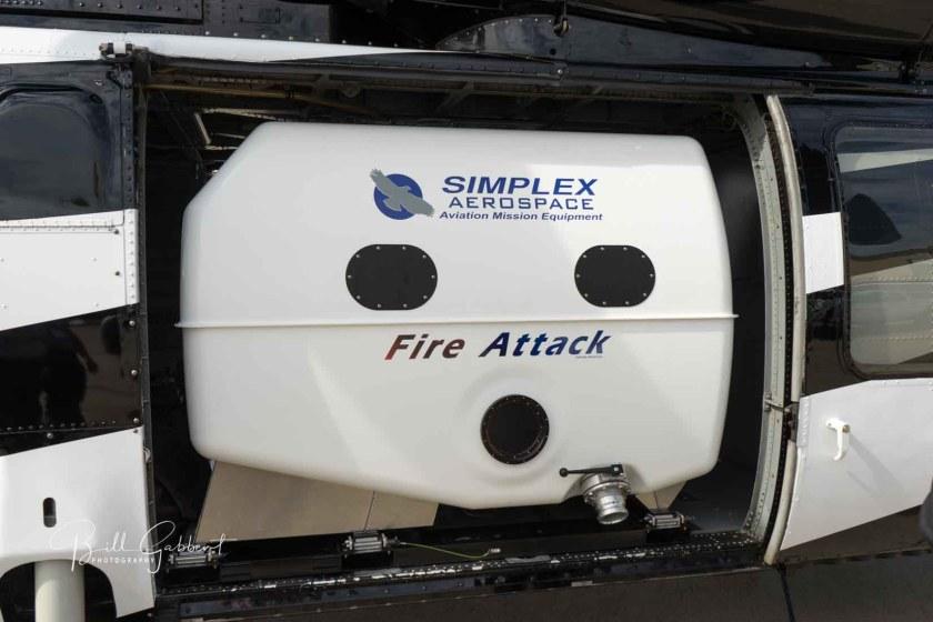 Simplex internal blackhawk water tank