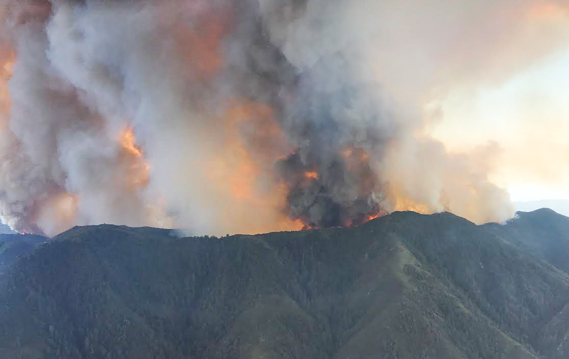 Photos from the Holy Fire in Orange County, California