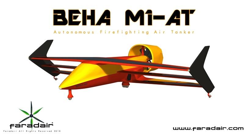 Faradair UAV air tanker