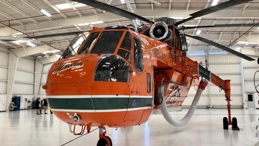 SGE&E's Erickson Air-Crane helicopter