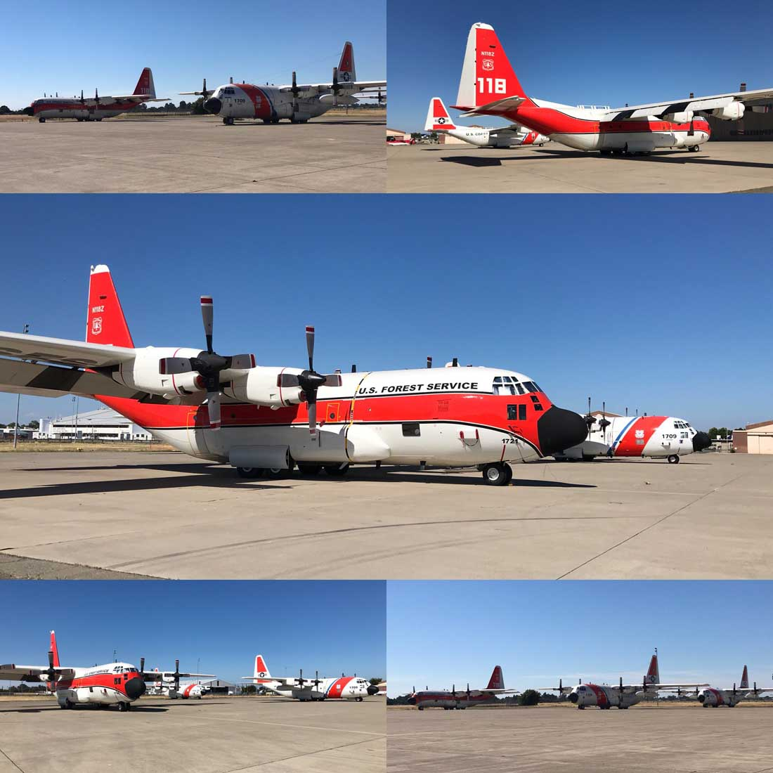 Senators ask USFS to keep operating the HC-130H air tanker until end of year