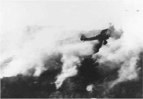 first air tanker drop wildfire fire