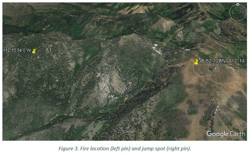 Injuries smokejumpers Miner Camp Peak Fire