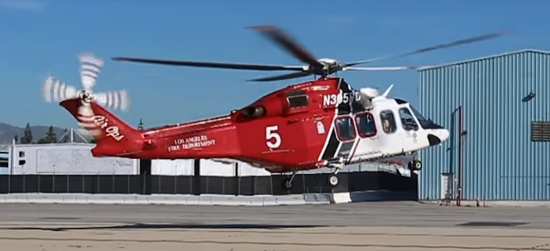 LAFD helicopter