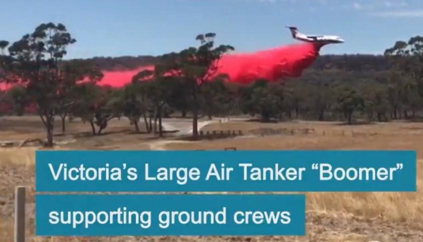 air tanker rj85 australia victoria