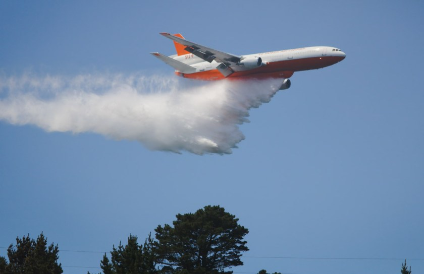 air Tanker 914 in Chile, 2019