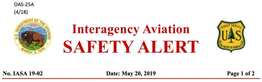 Retardant safety alert