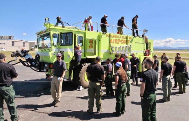 Durango airport Oshkosh crash rescue truck