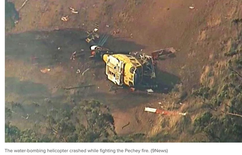 Helicopter Down crash Queensland Australia