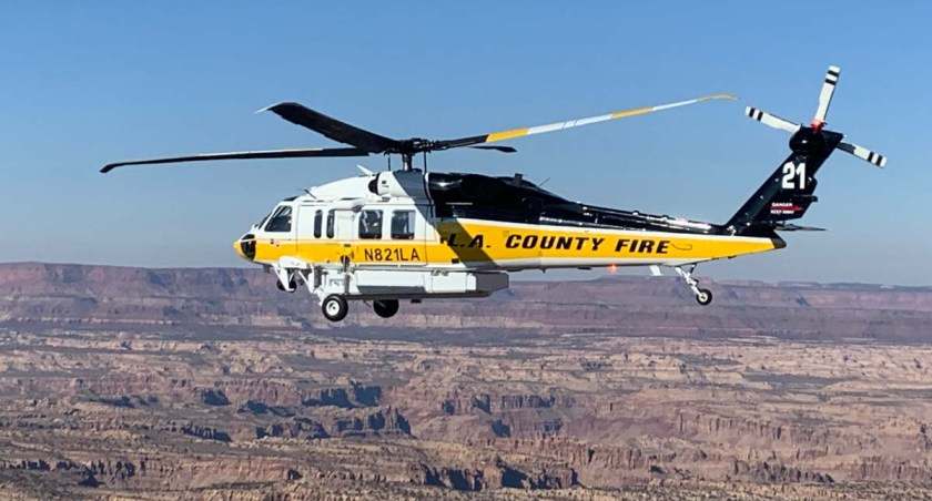 Firehawk Sikorsky S70I Los Angeles County Fire Department