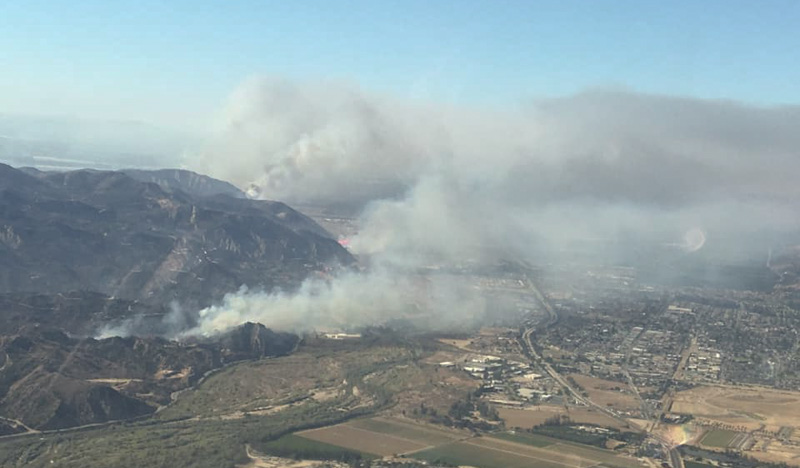 Maria Fire November 1, 2019